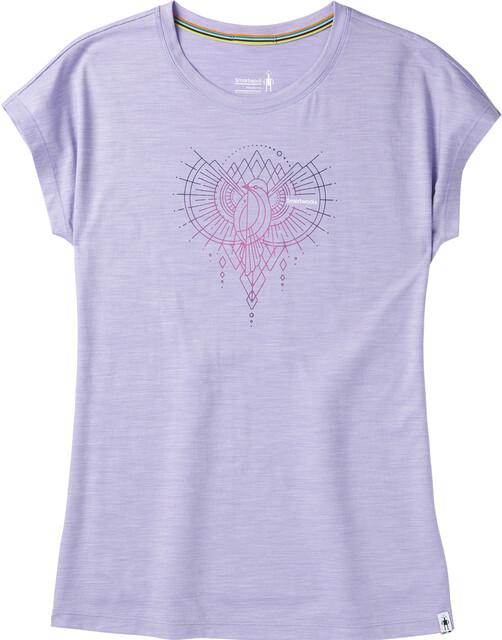 Violet Shirt Merino Mountain Smartwool Femme Manches Sport Magpie Courtes 150 T hQrCBtdxs